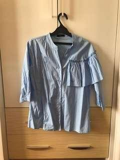 [NEVER BEEN USED] Blue Shirt