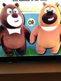 Selling adorable boonie bears Plush