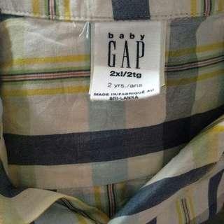 kemeja Baby Gap