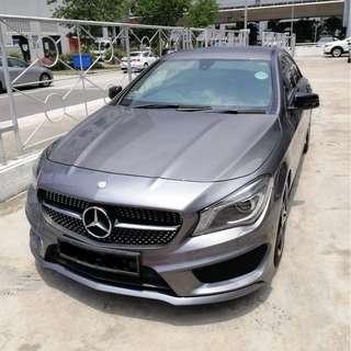 Mercedes CLA180 AMG Wedding Rental