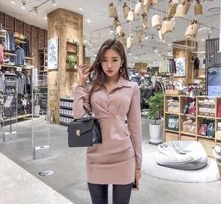 🚚 Po: Korea style long sleeves dress