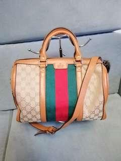 Gucci Boston 2 Way Bag Excellent Used Condition!!!