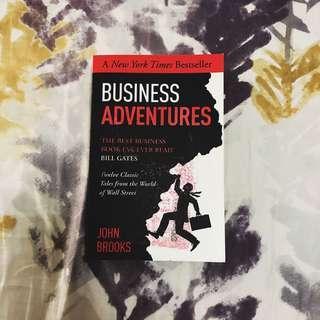 Business Adventures by John Brooks
