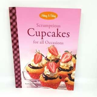 🚚 Baking recipe book: Scrumptious Cupcakes for all Occasions by Kathryn Hawkins