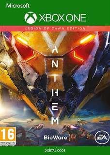 🚚 Anthem Legion of Dawn XBOX ONE