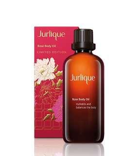 NEW - Jurlique Rose Body Oil Lunar New Year LE RRP $59