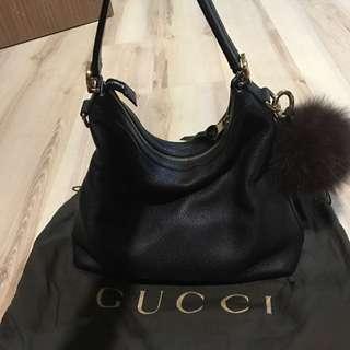 🚚 Gucci leather Hobo Shoulder Bag