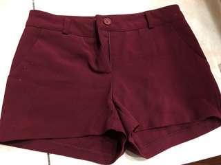 🚚 正韓韓國製西裝短褲顯瘦盡全新