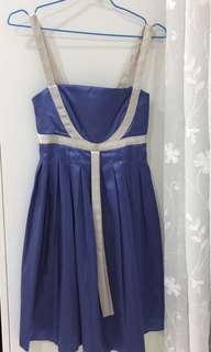 🚚 [二手] 藍色洋裝