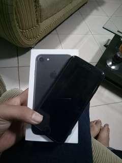 Iphone 7 mate black 128gb mulus sangat like a new