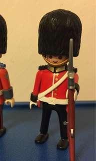 絕版 英國禦林軍士兵