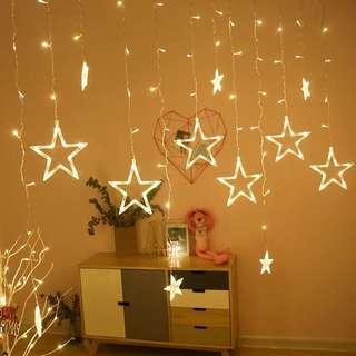 🚚 Led star lights decoration