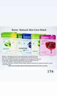 Rorec Natural Skin Care Mask