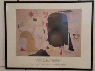 Willi Bannister- Collection of European Masters