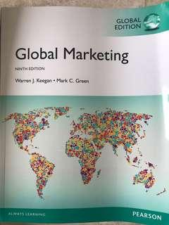 🚚 Global Marketing by Warren J. Keegan & Mark C. Green (9th Edition)