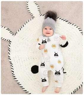 100% Cotton Baby Autumn Romper
