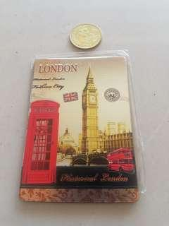 London fridge magnet rm7 NEW
