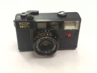 ricoh 35efl 35mm vintage film camera