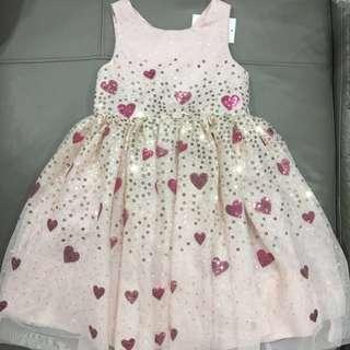 Girl sequin tulle dress
