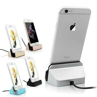 Charger Dock Station Stand USB Charging for iPhone&Android