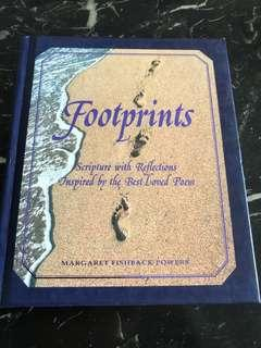 🚚 Footprints: Scripture with Reflections Inspired by the Best-Loved Poem by Margaret Fishback Powers