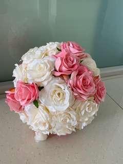 Pomander / flowers ball / wedding ball / kissing ball