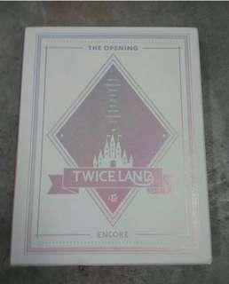 Twice 'Twiceland: The Opening Encore' DVD