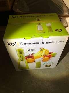 🚚 Kolin隨行杯果汁機(雙杯組