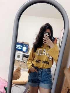 🚚 黃色長袖上衣