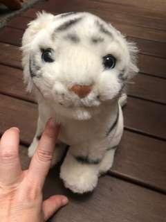 🚚 Stuffed Toy Animals - White Tiger