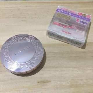 🚚 Canmake 棉花糖柔霧蜜粉餅 紫色