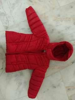 Winter Jacket red