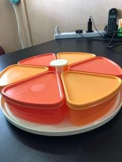🚚 Tupperware Raya Cookies Container