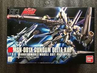 HG 系列 MSN-001X GUNDAM DELTA KAI