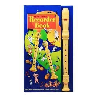 BRand new My Fun To Learn recorder book