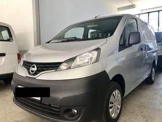 New Nissan NV200 auto