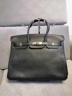 Hermes Birkin Black Bag