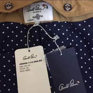 🚚 全新轉賣 arnold palmer AP 小雨傘 防風鋪棉機車外套 夾克