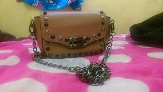 Sling Bag Brown Crocs Body