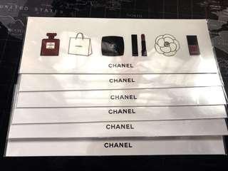 正版Chanel貼紙 每張$15(包平郵)