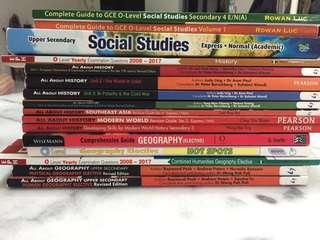 Humanities textbooks