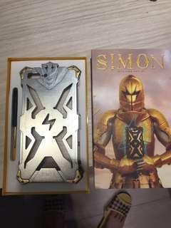 🚚 SIMON iPhone7+ 金屬殼