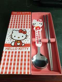 🚚 Hello Kitty Cutlery Set