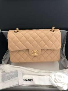 Brand new Chanel small classic flap bag 23cm