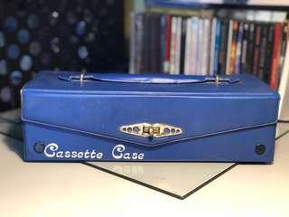 Vintage Cassette Tape Case