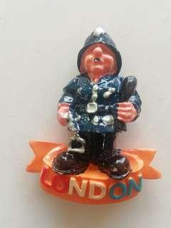 London Police fridge magnet rm6 NEW