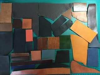 🚚 Leather scraps