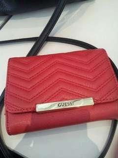 Authentic Guess Wallet and Shoulder Bag