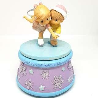 """Revolving Musical Box: Precious Moments (Tune: """"You are my Sunshine"""")"""