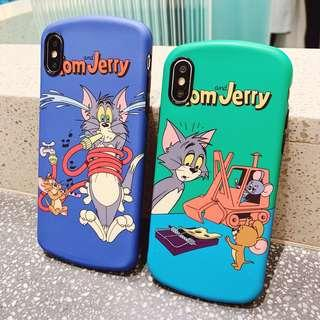 tom and jerry iphone 6/6p/7/7p/8/8p /X/XS/Xs MAX/XR phone case
